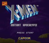Video Game: X-Men: Mutant Apocalypse
