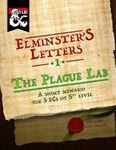 Issue: Elminster's Letters (Issue 1 - Mar 2016)
