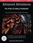 RPG Item: AA#33: The Halls of Lidless Shabbath