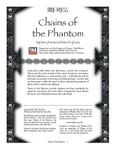 RPG Item: Chains of the Phantom