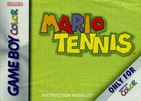 Video Game: Mario Tennis (GBC)