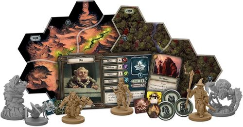 Board Game: The Lord of the Rings: Journeys in Middle-earth – Shadowed Paths Expansion