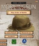 Video Game: Order of Battle: Morning Sun