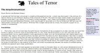 RPG Item: Tales of Terror: The Anachronomicon