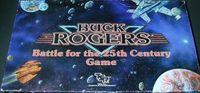Board Game: Buck Rogers: Battle for the 25th Century Game