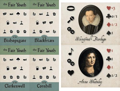 Board Game: Black Sonata: The Fair Youth