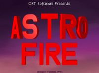 Video Game: Astro Fire