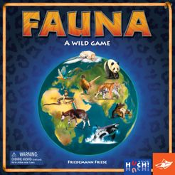 Fauna: A Wild Game boardgame
