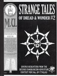 RPG Item: Strange Tales of Dread and Wonder #2