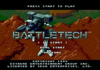 Video Game: BattleTech: A Game of Armored Combat