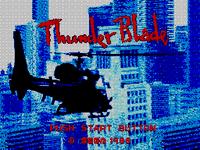 Video Game: Thunder Blade