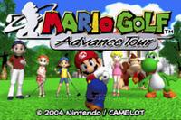 Video Game: Mario Golf: Advance Tour