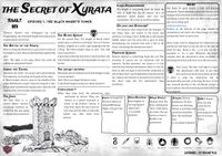RPG Item: Short Adventures at Lunch Time #3.1: The Secret of Xyrata Episode 1: The Black Knight's Tower