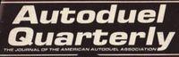 Periodical: Autoduel Quarterly