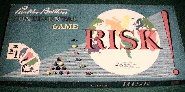 Risk - Original First Edition 1959 - Tri-Color Title