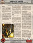 RPG Item: Ace Tale 02: A Church Fallen