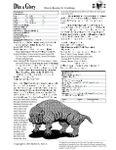 RPG Item: Bizarre Beasties #6: Catoblepas