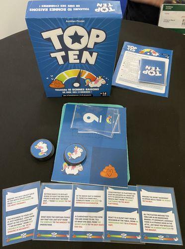 Board Game: Top Ten