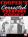 RPG Item: Cooper's Corrected Creature Codex