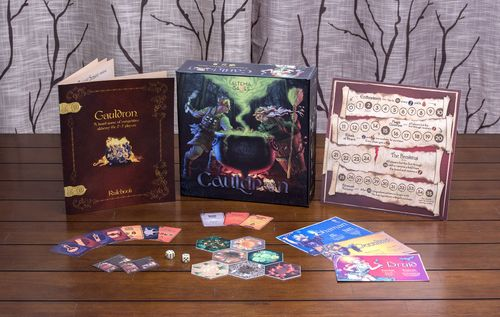 Board Game: Cauldron