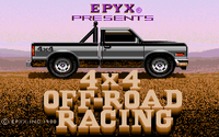 Video Game: 4x4 Off-Road Racing
