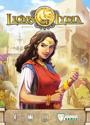 Board Game: Lions of Lydia