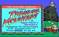 Video Game: Treasure Mountain!