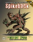 RPG Item: Creatures of the Apocalypse 03: Spikeback