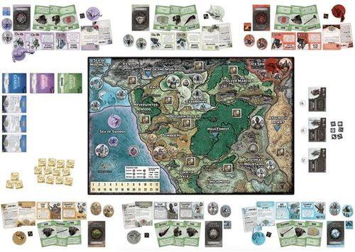 Overlong Review Of Assault Of The Giants Flawed Yet Wonderful The Secrets Of Great Games Boardgamegeek