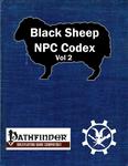 RPG Item: Black Sheep NPC Codex Vol 2