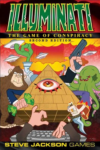 Board Game: Illuminati (Second Edition)
