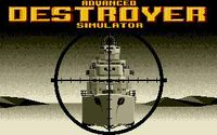 Video Game: Advanced Destroyer Simulator