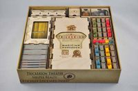 Board Game Accessory: Trickerion: Legends of Illusion – Meeple Realty Insert