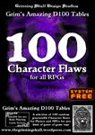 RPG Item: 100 Character Flaws for all RPGs