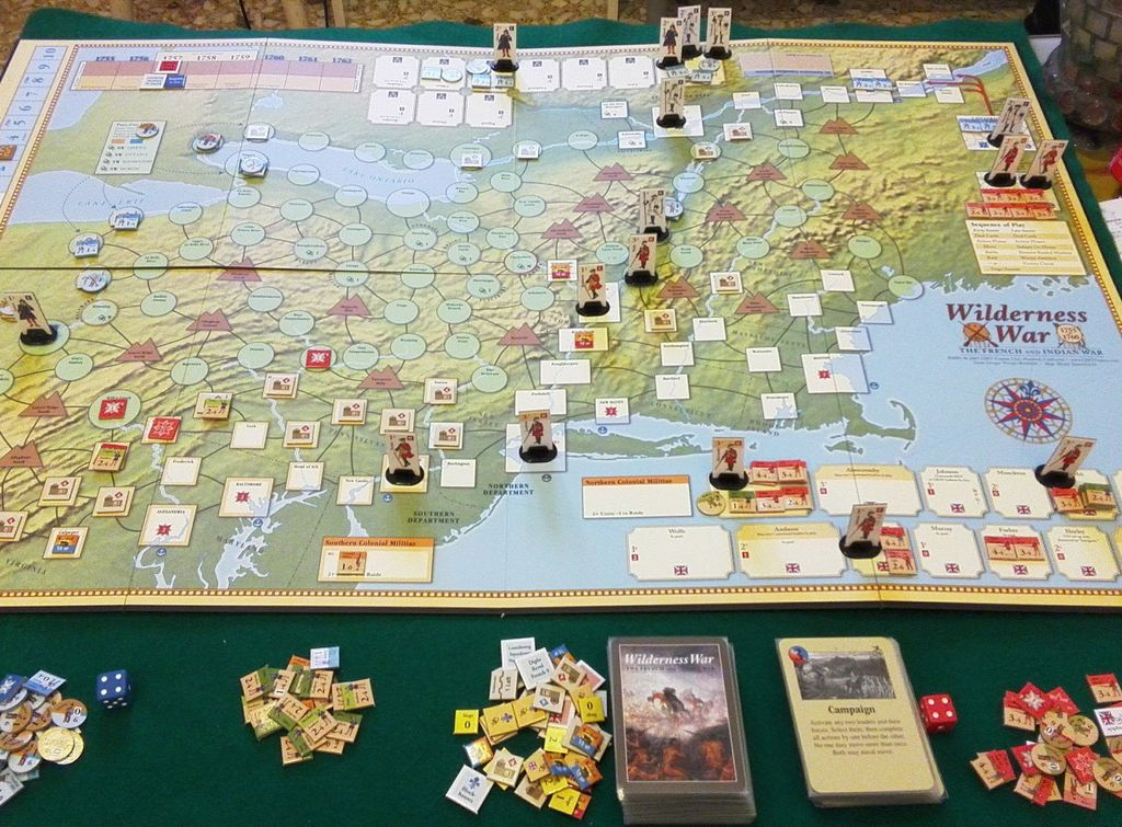 Board Game: Wilderness War