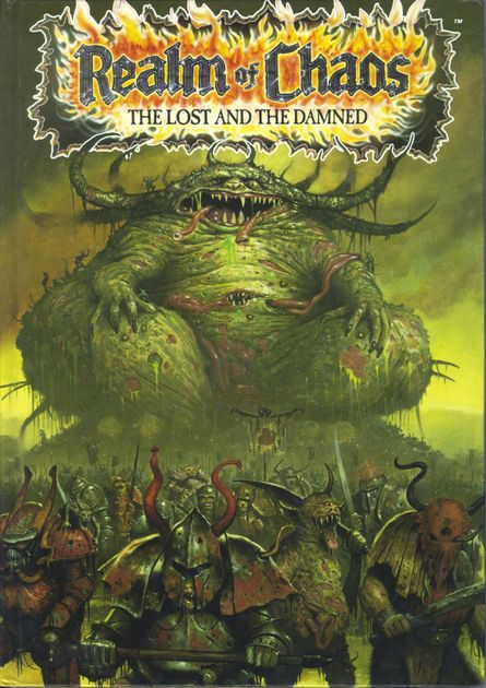 Realm Of Chaos The Lost And The Damned Rpg Item Boardgamegeek