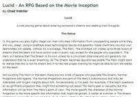 RPG Item: Lucid