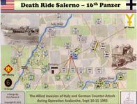 Board Game: Death Ride Salerno: 16th Panzer