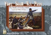 Board Game: They Shall Not Pass: The Battle of Verdun 1916