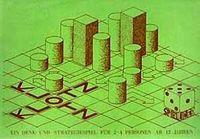 Board Game: Klotz