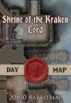 RPG Item: Shrine of the Kraken Lord - Day Map