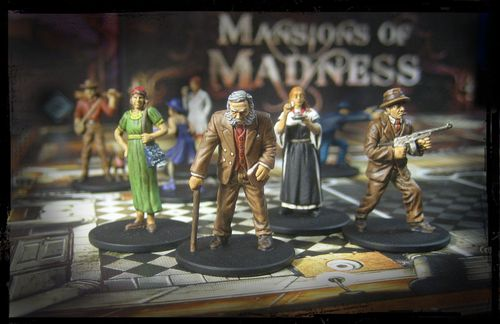 Board Game: Mansions of Madness