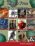 RPG Item: Mike's Free Encounters #21 - 30