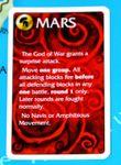 Mars event card