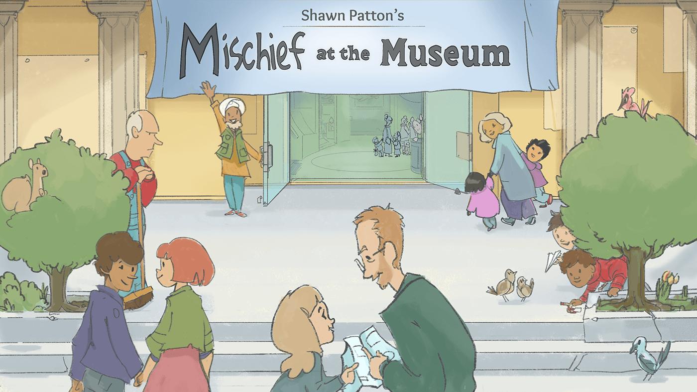 Mischief at the Museum