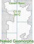 RPG Item: Naked Geomorphs: Cavern Basic Set C