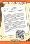 RPG Item: Threat Report #30: Huntmaster