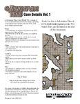 RPG Item: e-Adventure Tiles: Cave Details Vol. 1