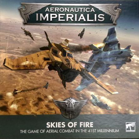 Aeronautica Imperialis SKIES OF FIRE Core Rules Tokens Game Mat Ref Sheet 40K