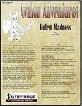 RPG Item: Avalon Adventures Vol 1 #09: Golem Madness